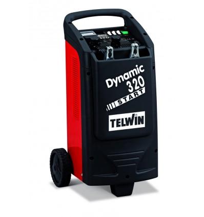 829381 - DYNAMIC 320 START 230V 12-24V - TELWIN - Cargador de baterías y arrancador para la carga de baterías a electroli