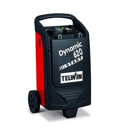 829384 - DYNAMIC 620 START 230V 12-24V - TELWIN - Cargador de baterías y arrancador para la carga de baterías a electroli