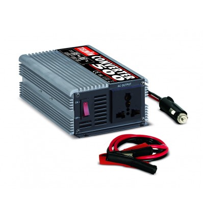 829446 - CONVERTER 500 - TELWIN - Convertidor inverter 12 VDC - 230 V AC ideal para enchufar enel coche o enautocaravan