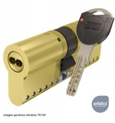 TK153030L - CILINDROS SEGURIDAD TK100 30X30 LATON